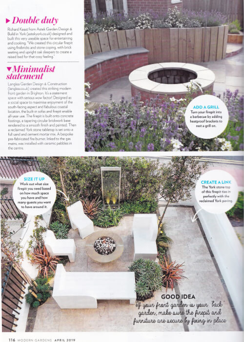 Modern Gardens Magazine April 2019 Feature