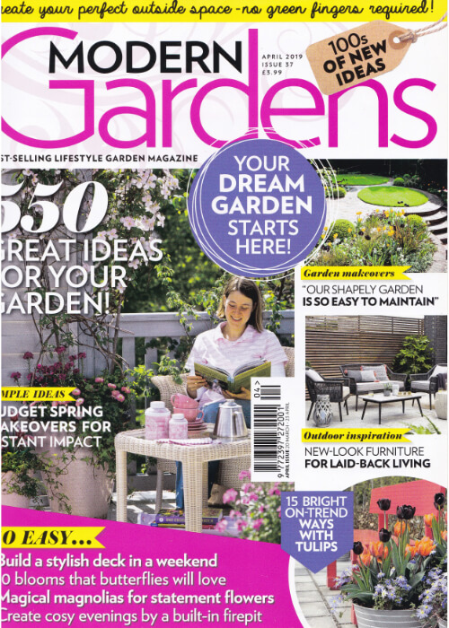 Modern Gardens Magazine April 2019